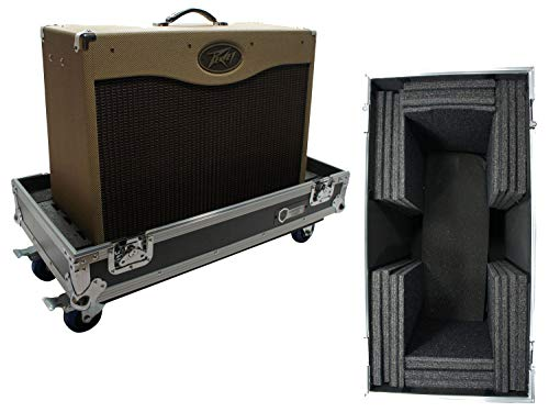 Harmony HCGC212C Universal 2X12 Electric Guitar Combo Amp Rolling Flight Case