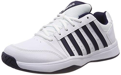 White Blanc Court Navy Smash EU Homme Swiss 109M de Performance K Tennis Chaussures 8qzHw