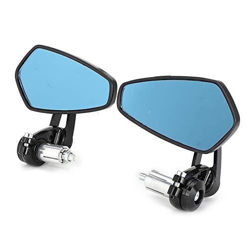 Zijspiegels Bar End Spiegels Achteruitkijkspiegel verstelbaar voor motor Accessoire voor motorfiets