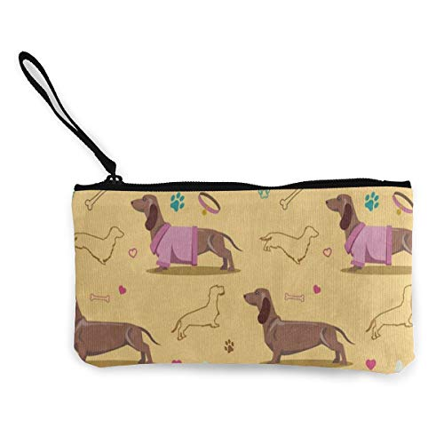 Canvas Coin Purse Dachshund...