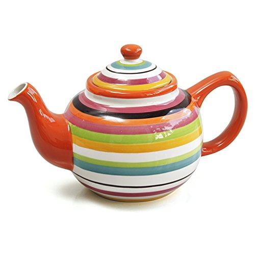 Omniware 1359196 Rio 1.4 qt. Infuser Teapot, Multicolored