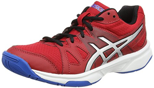de Volleyball Asics Fiery 2393 Red GS Electric Adulte Blue Rouge Mixte Chaussures Silver Gel Upcourt WzczIp