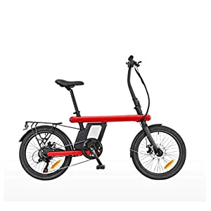 Adult Mountain Electric Bike, 250W 36V Lithium Battery, Aerospace Aluminum Alloy 6 Speed Electric Bicycle 20 Inch Wheels