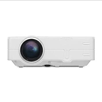 BESTSUGER Proyector de vídeo, proyector de Techo, portátil ...
