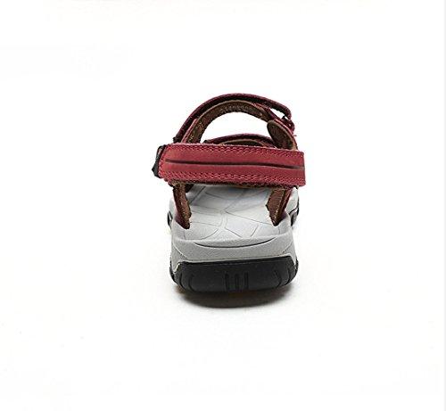 Kamel Utomhus Kvinnor Strand Sandaler Färg Röd Storlek 35 M Eu