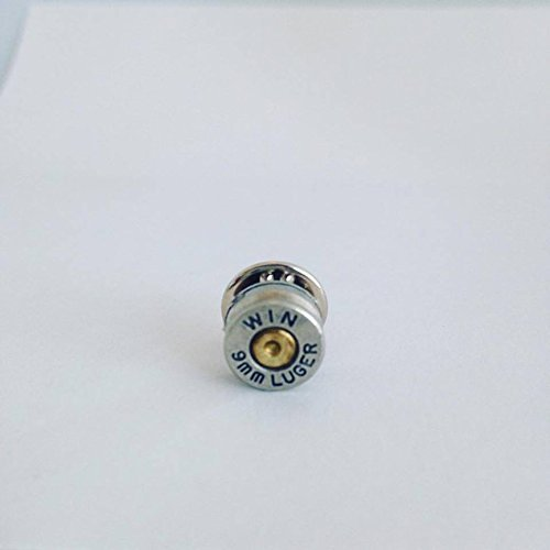 Winchester 9mm Bullet Shell Tie Tack