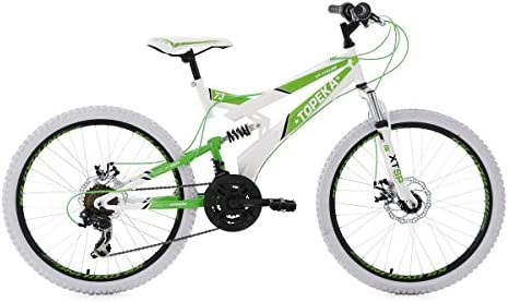 KS Cycling Jugendfahrrad Mountainbike MTB Fully 24'' Topeka RH 41 cm