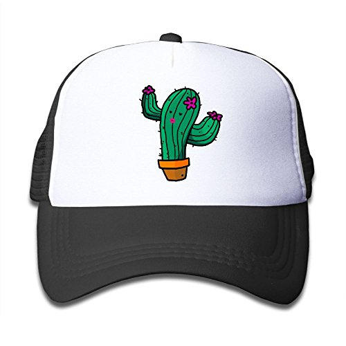 Price comparison product image Aiw Wfdnn Mesh Baseball Hat Kid's Cactus Bansai Plant Cute Adjustable