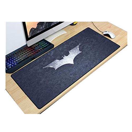 (Batman Extended Gaming Mouse Pad Mat Professional Large Size Desk Mat,Non-Slip Rubber Mouse Mat (900 x 400 x 3mm/35.43 x 15.74 x 0.11 inch,)