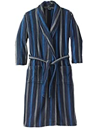 Mens Big & Tall Terry Bathrobe With Pockets