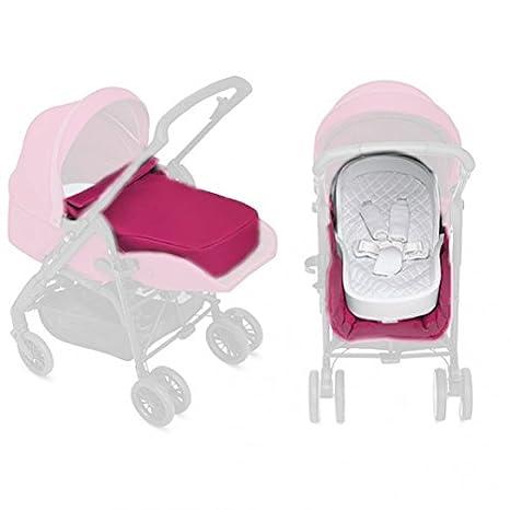 Inglesina Sweet Puppy kit Rosa colchoneta para silla de ...