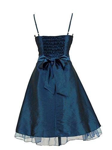 dress190 Damen Kleid Blau Blau