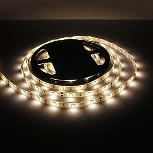 Luy Waterproof 5M 30W 150x5050 SMD Warm White Light LED Strip Lamp (12V, IP44)