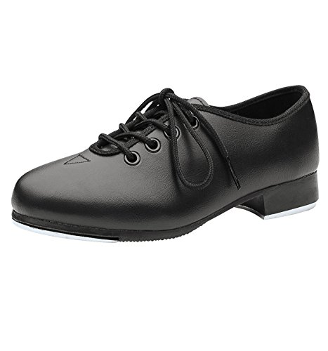 Bloch Kid's Dance Now Economy Jazz Tap Shoes, Black, 12 Litt