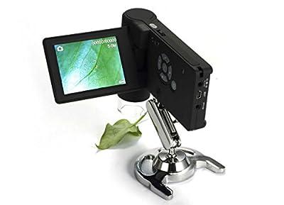 TOPMYS TM-XR039 Professional Handheld Digital USB Microscope 500X Real 5.0MP 3.5'' LCD Display Microscopes Camera