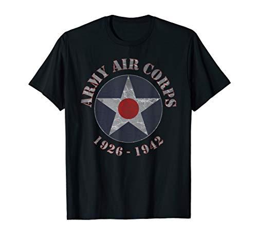 ARMY AIR CORPS RETRO T-SHIRTS Army Air Corp Blue T-shirt