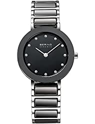 BERING Time 11429-742 Womens Ceramic Collection Watch with Stainless steel Band and scratch resistant sapphire...