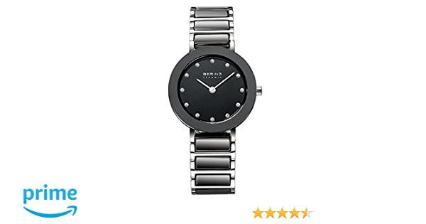 Amazon.com: BERING Time 11429-742 Womens Ceramic Collection Watch with Stainless steel Band and scratch resistant sapphire crystal. Designed in Denmark.