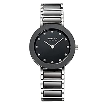 BERING Time 11429-742 Womens Ceramic Collection Watch with Stainless steel Band and scratch resistant