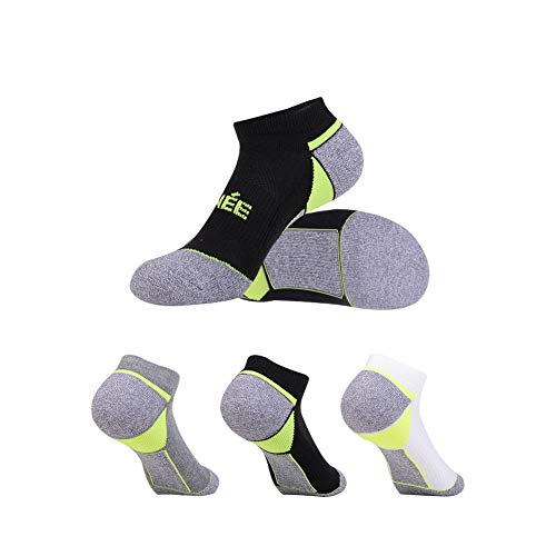 Women's 6-Pairs Low Cut Ankle Athletic Socks with Cushion for Sports and Casual Use