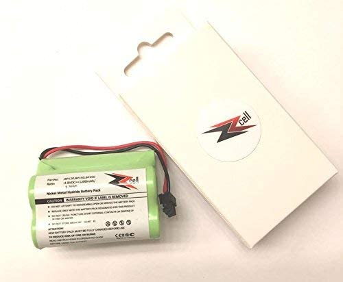 BP150 BP180 Uniden BBTY0356001 1200 mAh BP250 2-Pack ZZcell Battery for Bearcat Sportcat BP120