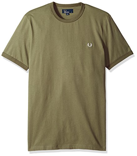 shirt Homme Verde Oliva T Fred Perry Ringer z5qZIWI6w