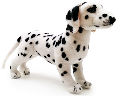 Donnie the Dalmatian | 18 Inch Large Dalmatian Dog Stuffed Animal Plush | By Tiger Tale Toys (Plush Big Dog Stuffed)