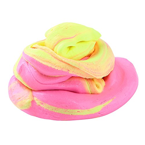Sludge Toy,Hunzed Mix Color Fluffy Floam Slime Mud Clay Scented Stress Relief DIY Magic Plasticine No Borax Kids Toy (C)