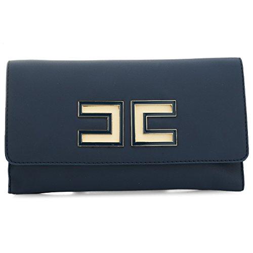 YYW Evening Bag - Cartera de mano con asa para mujer Azul