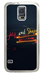 Abstract light Polycarbonate Hard Case Cover for Samsung S5/Samsung Galaxy S5 Transparent