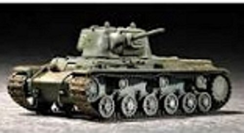 Trumpeter 1/72 Russian KV1 Mod 1942 Tank (Light Cast (Cast Turret Tank)