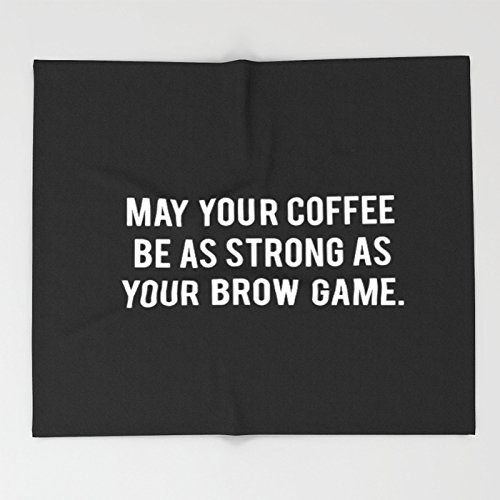 Society6 Brow game Throw Blankets 88'' x 104'' Blanket