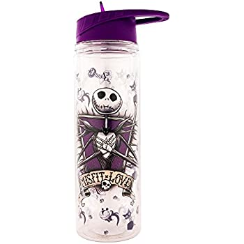 THE NIGHTMARE BEFORE CHRISTMAS Jack /& Sally Water Bottle Set Of 2