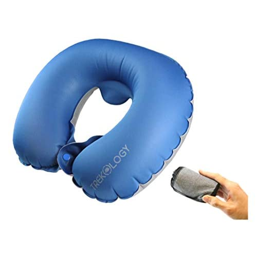 Trekology Inflatable Neck Pillow Travel