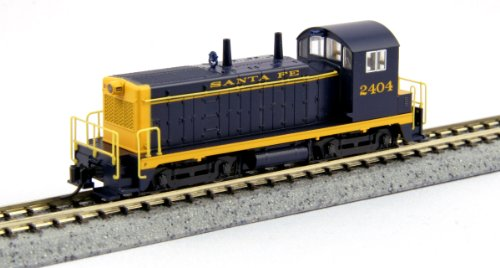 Kato USA Model Train Products EMD NW2 #2404 Santa Fe for sale  Delivered anywhere in USA