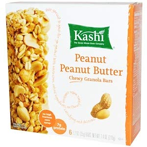 Kashi, Chewy Granola Bars 1.2 oz (35 g), Pack of 6 (Peanut Peanut Butter) (Butter Peanut Kashi)