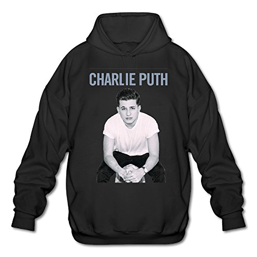 Price comparison product image SAMMOI Charlie Puth Men's Fashion Pullover Hood XL Black