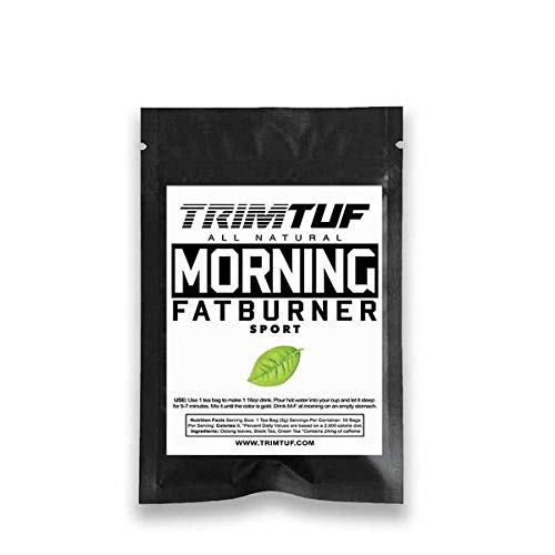 10 Day Morning Fat Burner Tea + Nitime Detox Sunday Tea ()