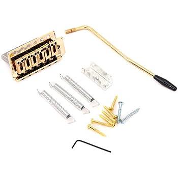 fender vintage style standard series stratocaster bridge gold musical instruments. Black Bedroom Furniture Sets. Home Design Ideas
