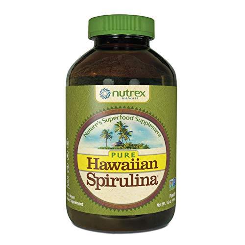 Pure Hawaiian Spirulina Powder 16 Ounce - Natural