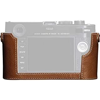 Leica Leather Protector Case for M Type 240 Digital Camera, Cognac