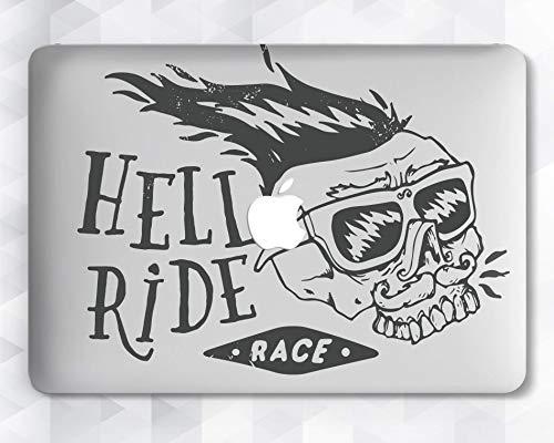 Hell Punk Skull Case For Apple Macbook 12