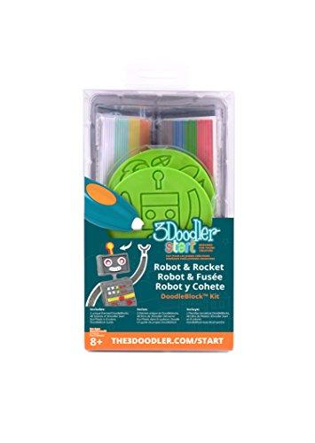 3Doodler Start Rocket & Robot DoodleBlock Kit by 3Doodler (Image #1)