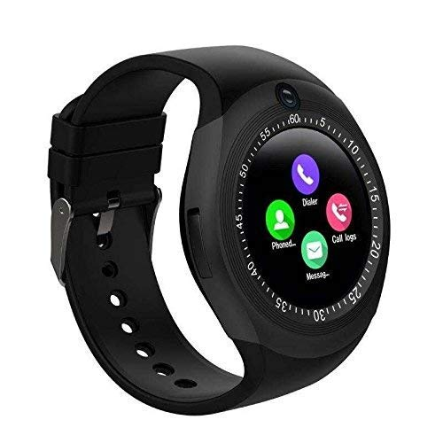 Chisel Unisex Bluetooth 4g Smart Watch for Men/Boys/Girls/Women Facebook/Whatsapp Messaging/4g Sim Card Support/Touch Screen/Compatible with All Android Mobile Phones(Color May Vary)