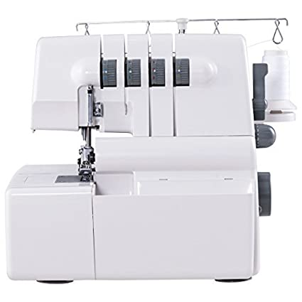 Amazon COSTWAY Portable Serger Sewing Machine 400 Needle 40 Thread Cool Brother Serger Sewing Machine