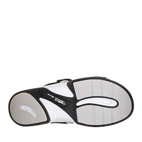 Easy Street Garbo Damen Breit Maschenweite Sandale Black/Grey