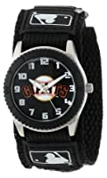 "Game Time Unisex MLB-ROB-SF""Rookie Black"" Watch - San Francisco Giants"