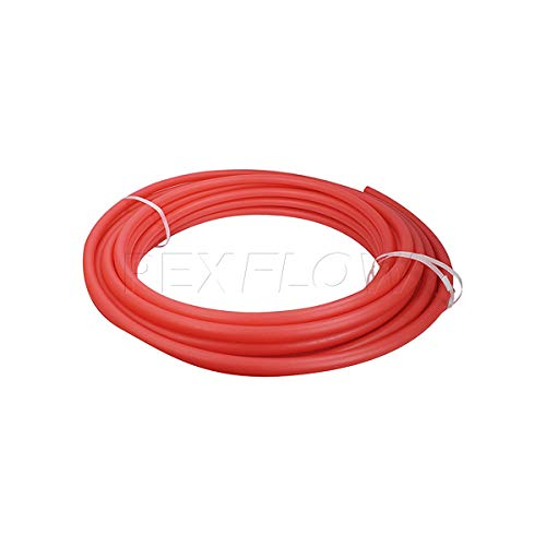 Pexflow PFW-R12100 PEX Potable Water Tubing Non-Barrier Pipe, 100 Feet, Red