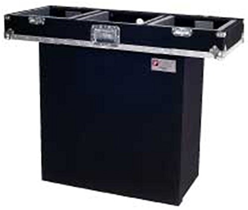 Odyssey CF2128 Carpeted Foldout Stand For Most Combo Racks And Dj Coffins Carpeted Folding Dj Stand