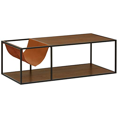 "Amazon.com: Rivet Heather Modern Coffee Table, 47.2""W"